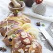 Regionalna słodka Wielkanoc z bakaliami